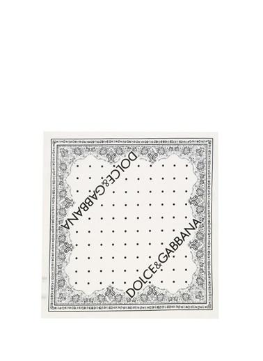 Dolce&Gabbana Fular Beyaz
